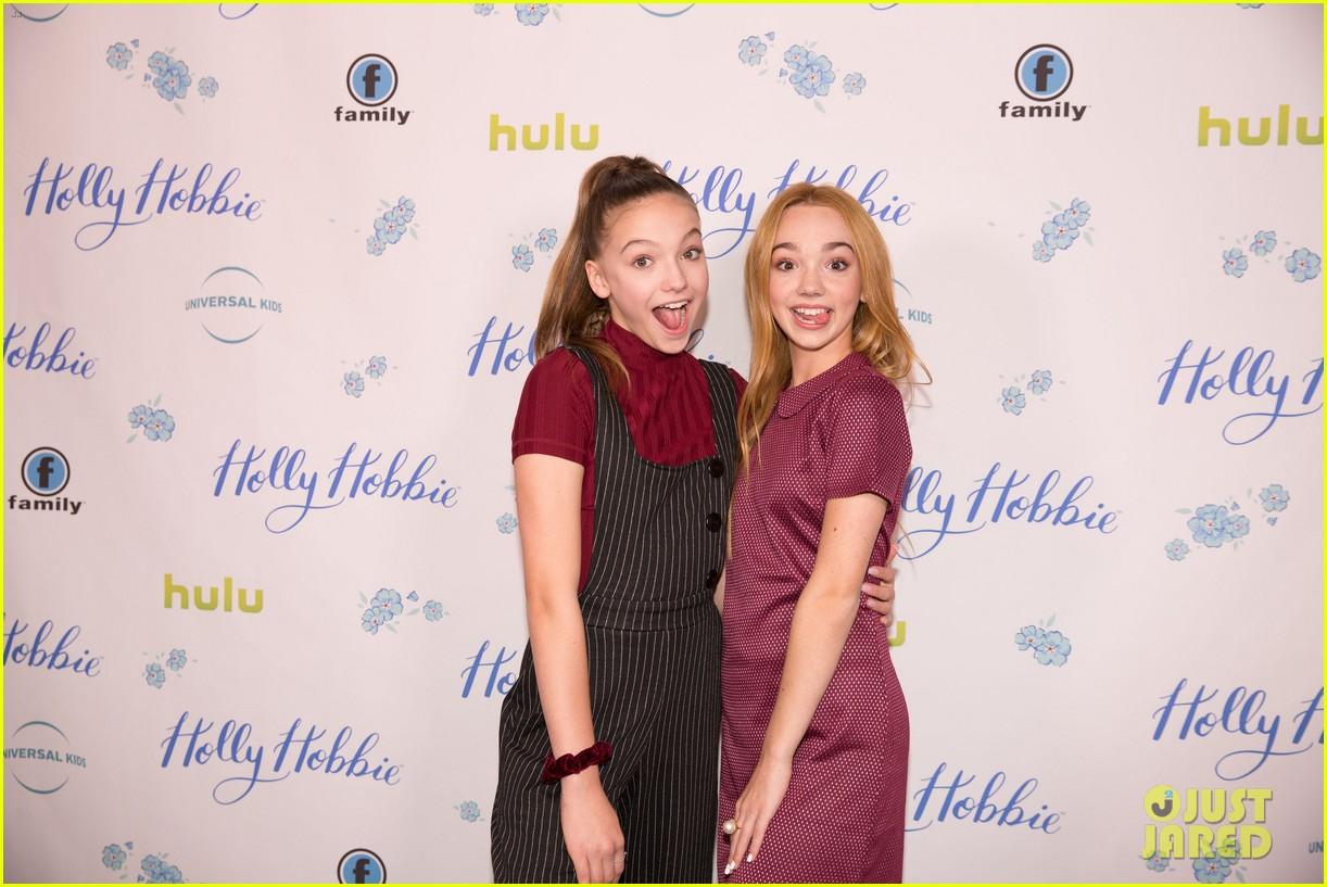 ruby jay celebrates premiere of holly hobbie 24