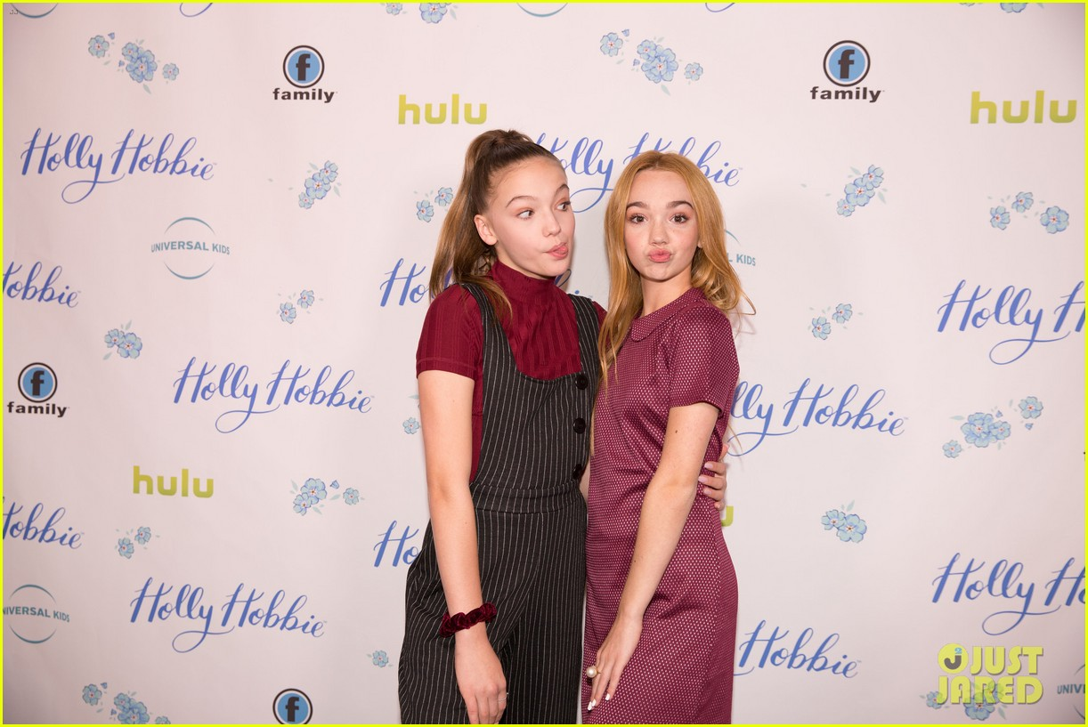 ruby jay celebrates premiere of holly hobbie 25