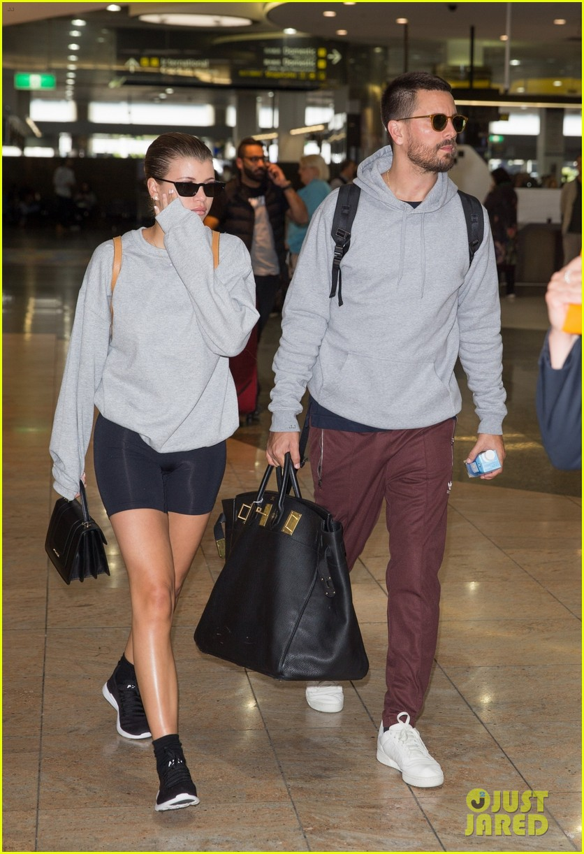sofia richie scott disick return from aus 02