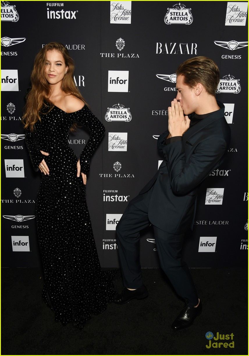 barbara palvin dylan sprouse stylish couple moments 01