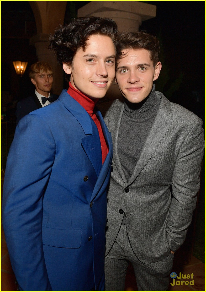 cole sprouse casey cott gq moty party 12