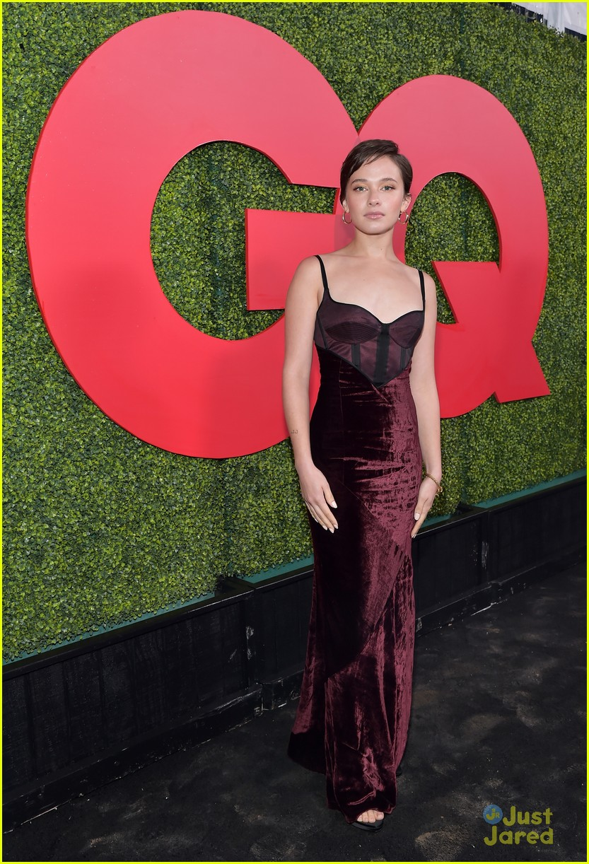 danielle campbell colin woodall gq party maika joe more 20