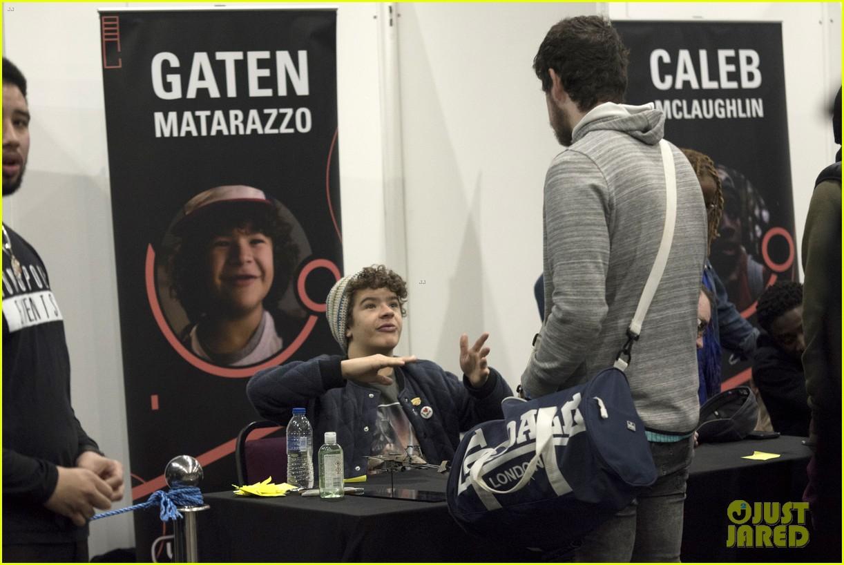 gaten matarazzo calbe mclaughlin love of sci fi convention 20
