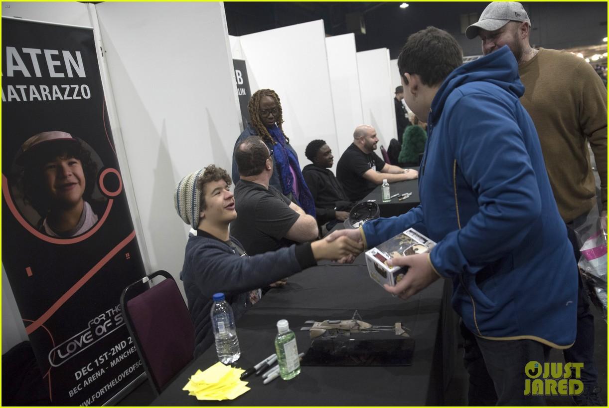 gaten matarazzo calbe mclaughlin love of sci fi convention 21