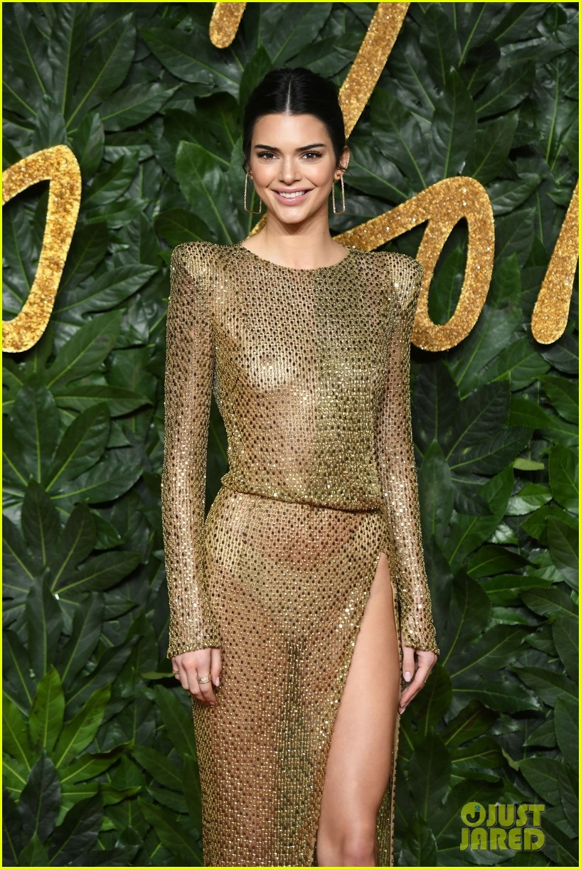 Kendall Jenner leaves little to the imagination at Fashion