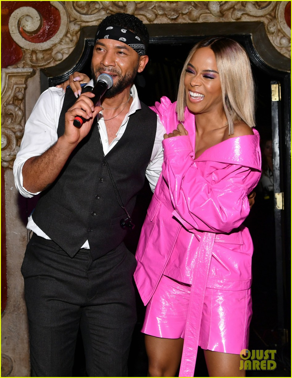 empires jussie smollett serayah dance to find cure at amfar event 09