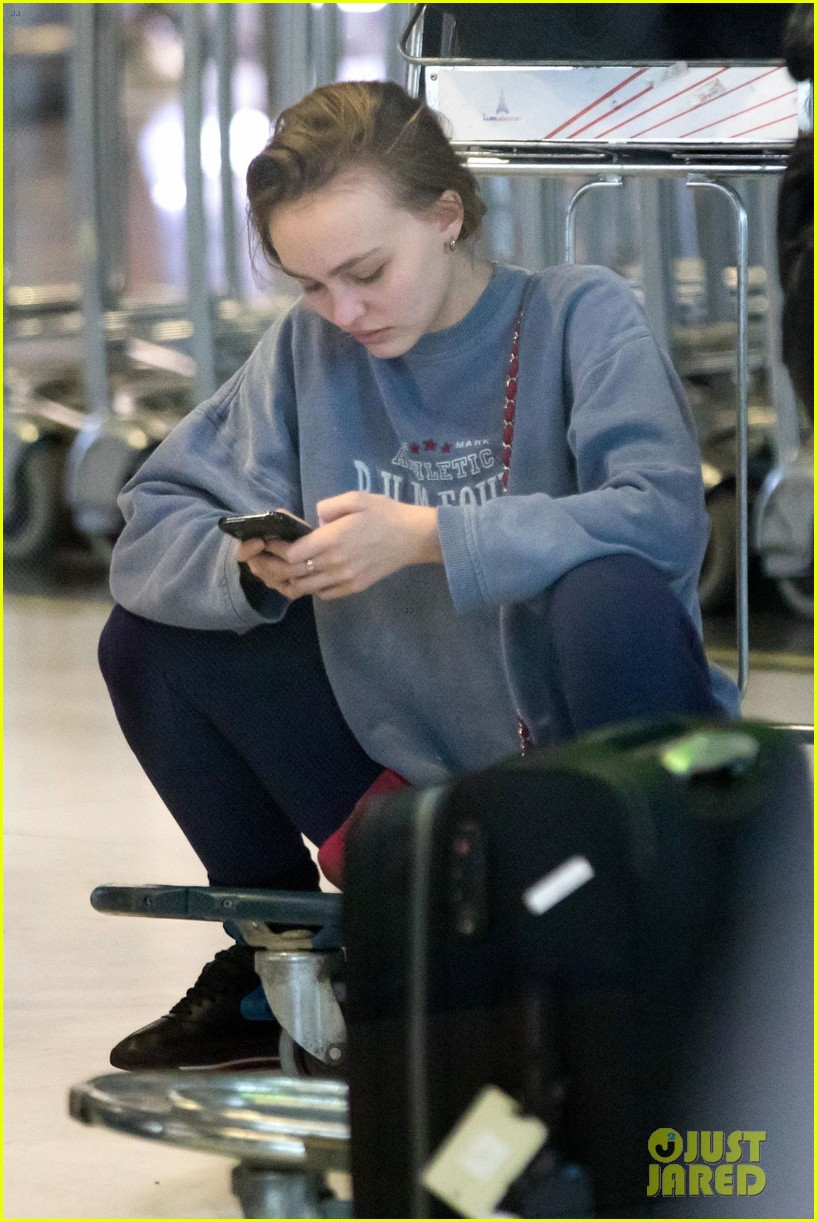 timothee chalamet lily rose depp france for the holidays 04