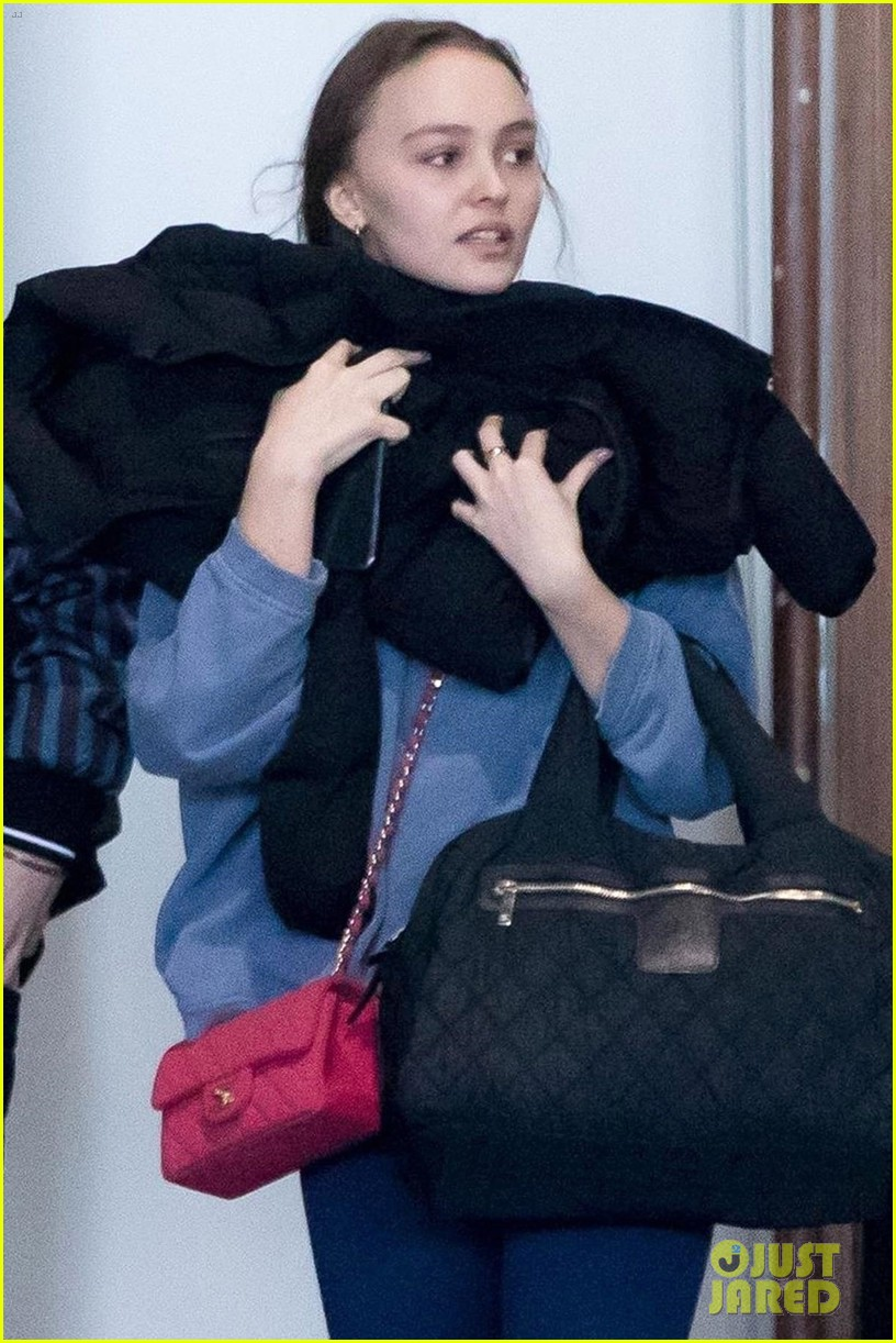 timothee chalamet lily rose depp france for the holidays 08