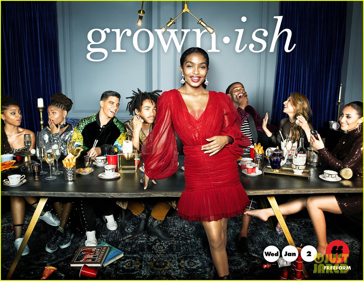 grown ish cast ring in new year new promo pics 03