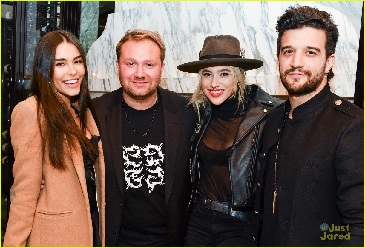 madison beer party zack bia mark ballas 04