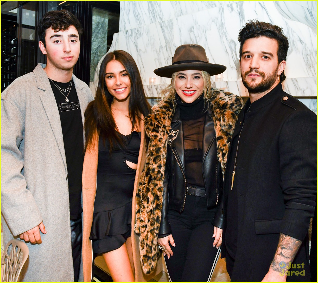 madison beer party zack bia mark ballas 05