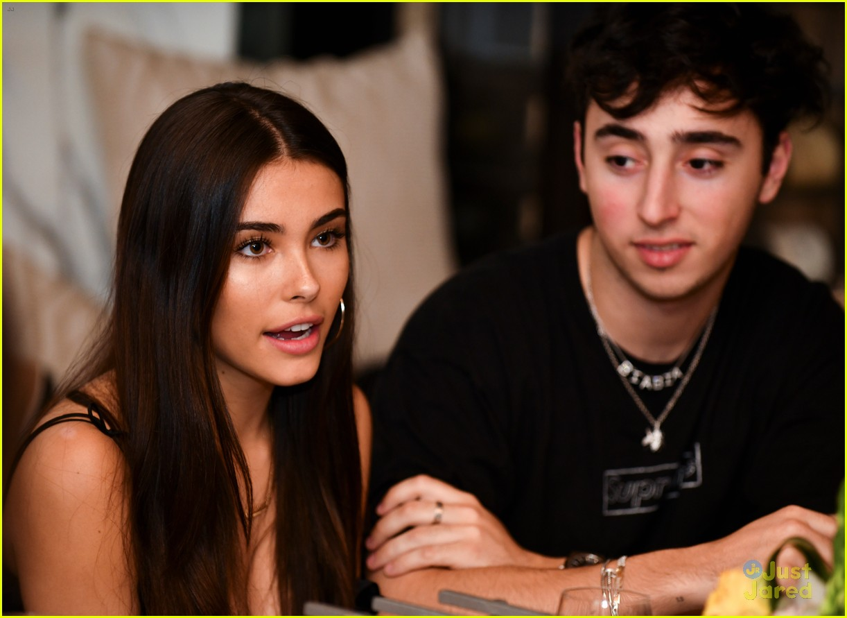 madison beer party zack bia mark ballas 09