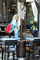hailey bieber dons double denim look for lunch with justin 03