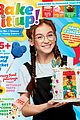 anna cathcart bakes it up on her first magazine cover 01