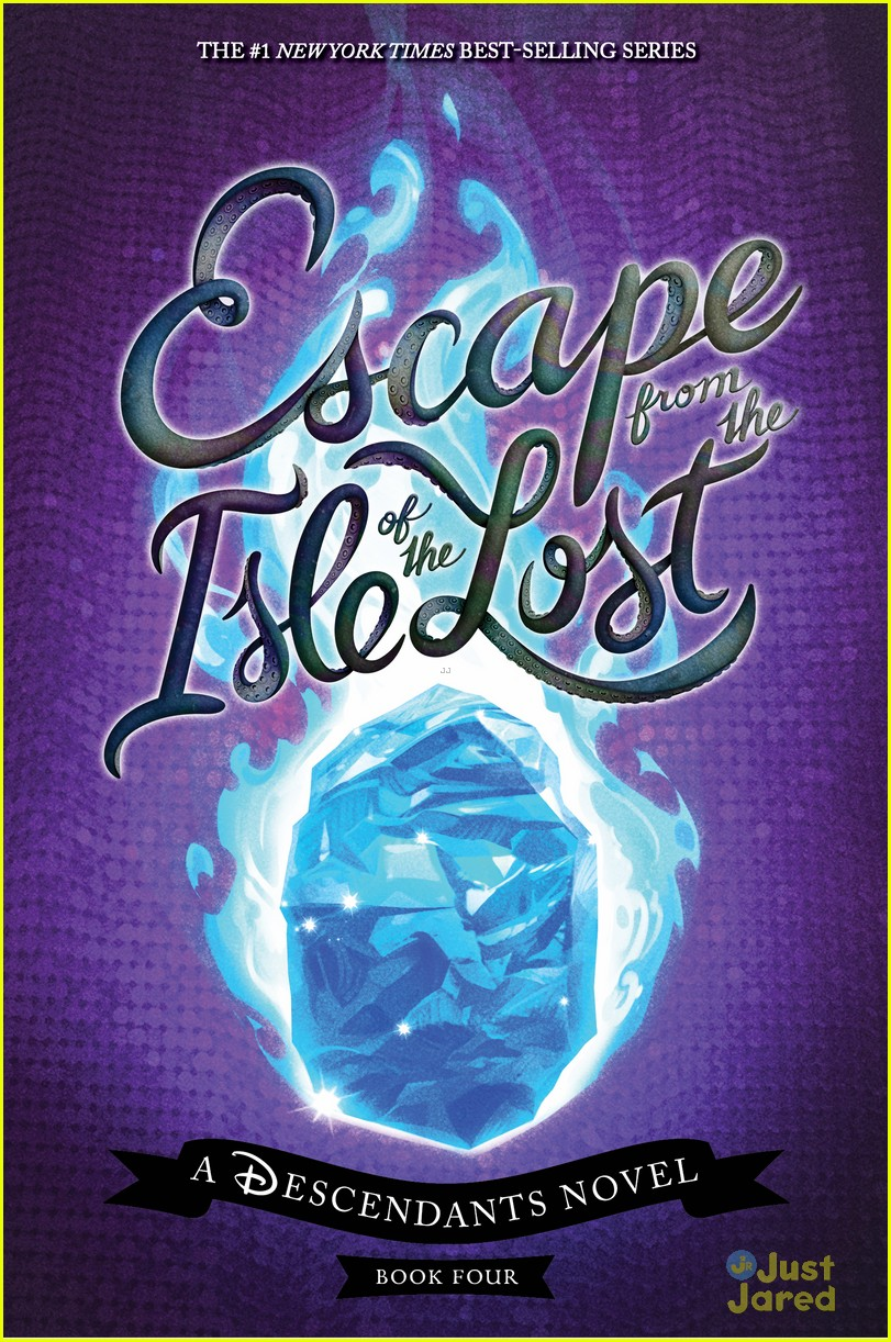 descendants escape isle lost book cover reveal 01