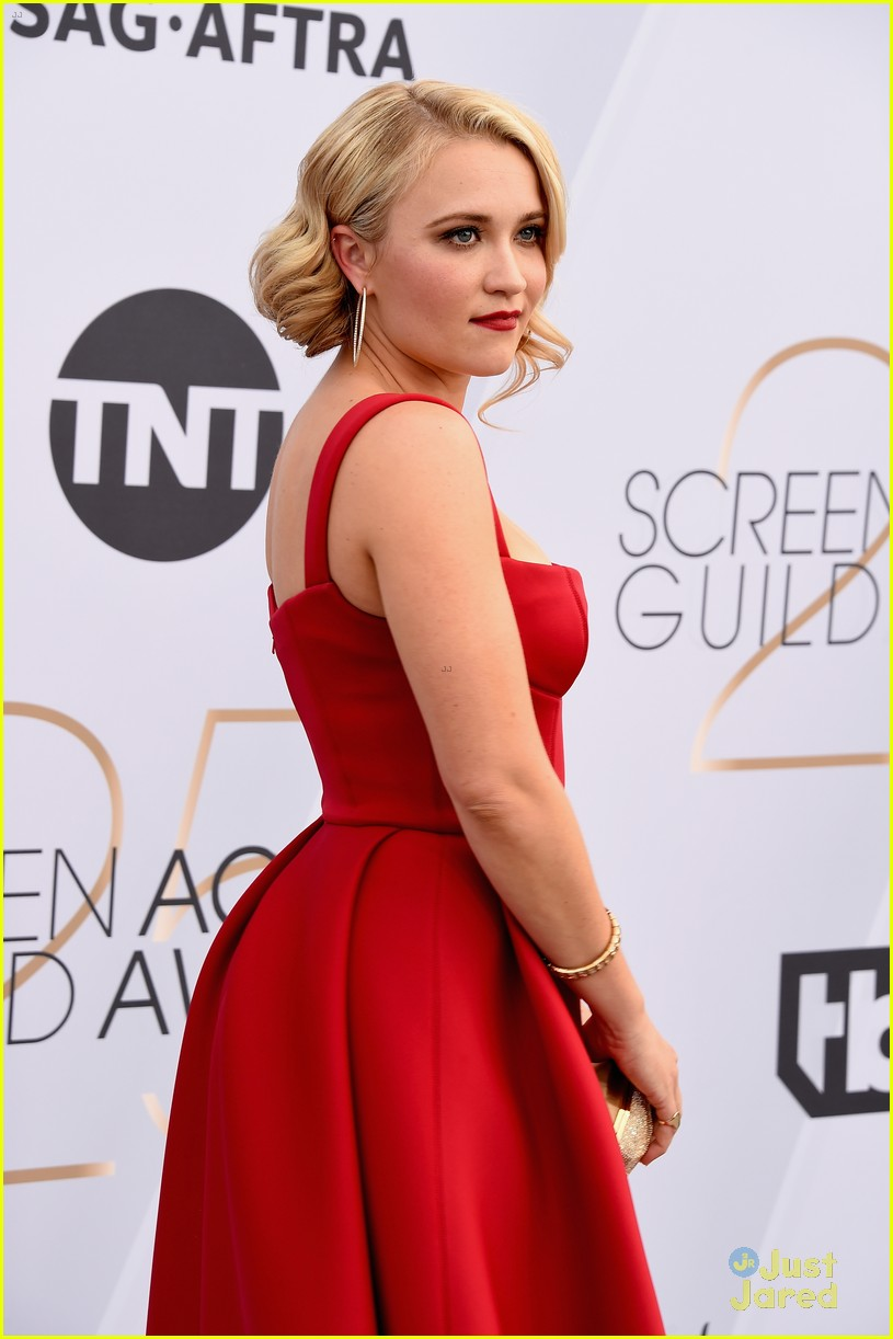 Emily Osment Makes Our Jaws Drop At Sag Awards