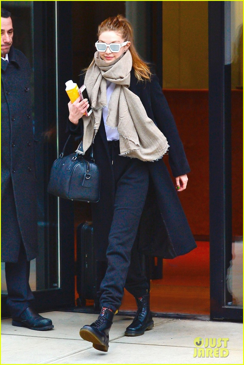 gigi hadid bundles up for day out in nyc 01