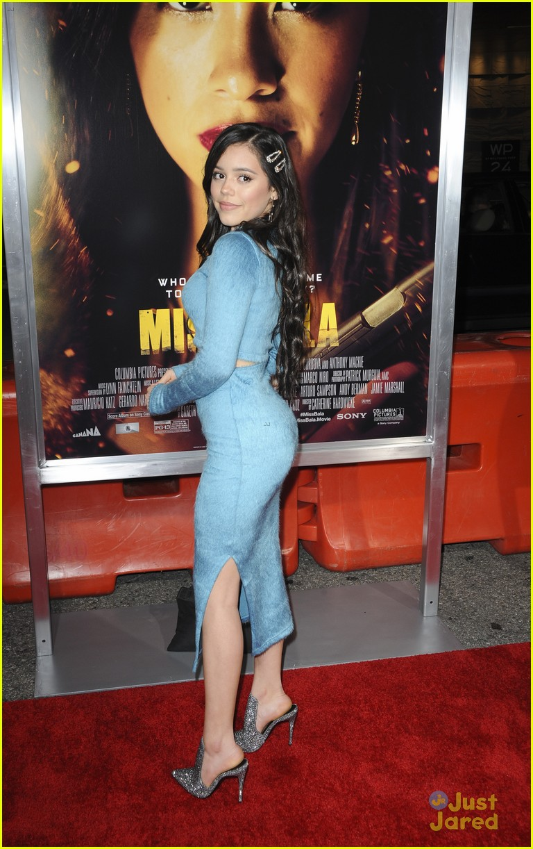 Lil Jane Jenna Ortega Supports Gina Rodriguez At Miss