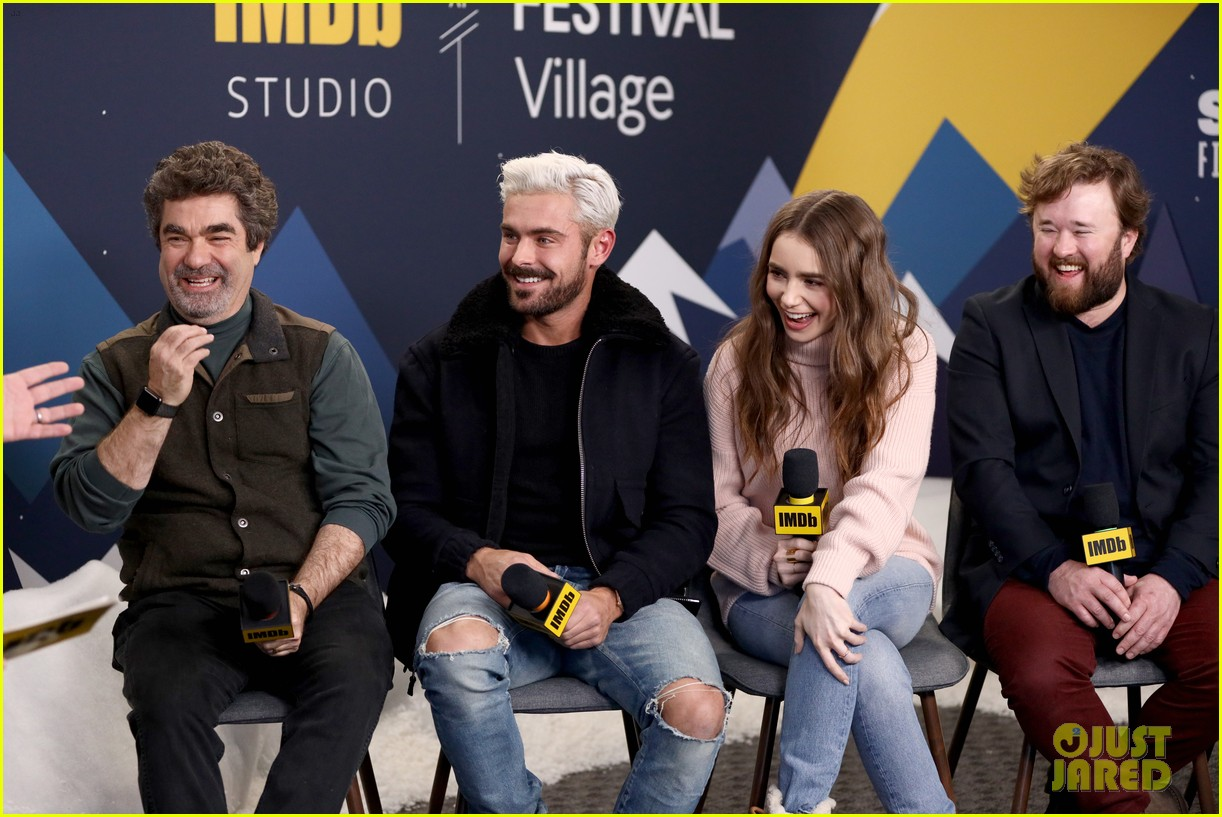 Zac Efron Lily Collins Promote Their New Movie At Sundance Film