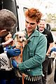 kj apa aspca volunteer with bumble winner 01