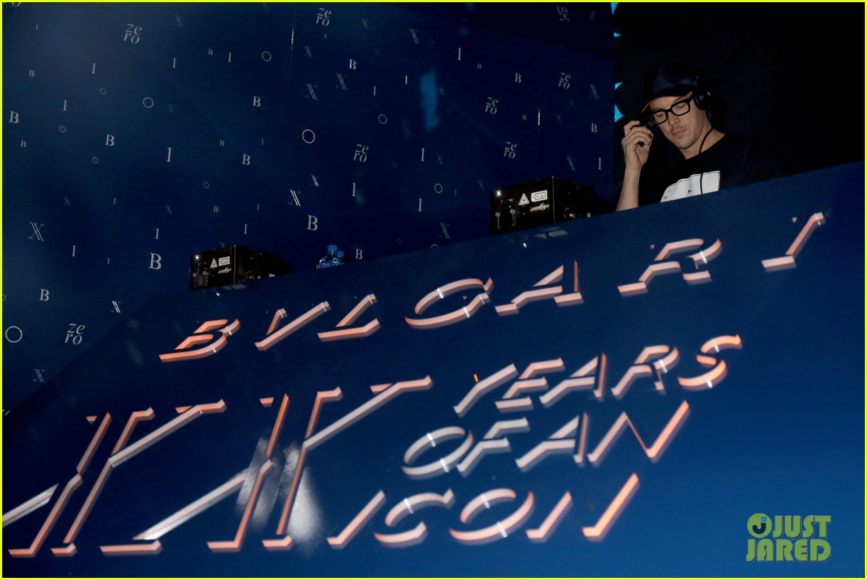 bella hadid liam paynebvlgari anniversary party 27
