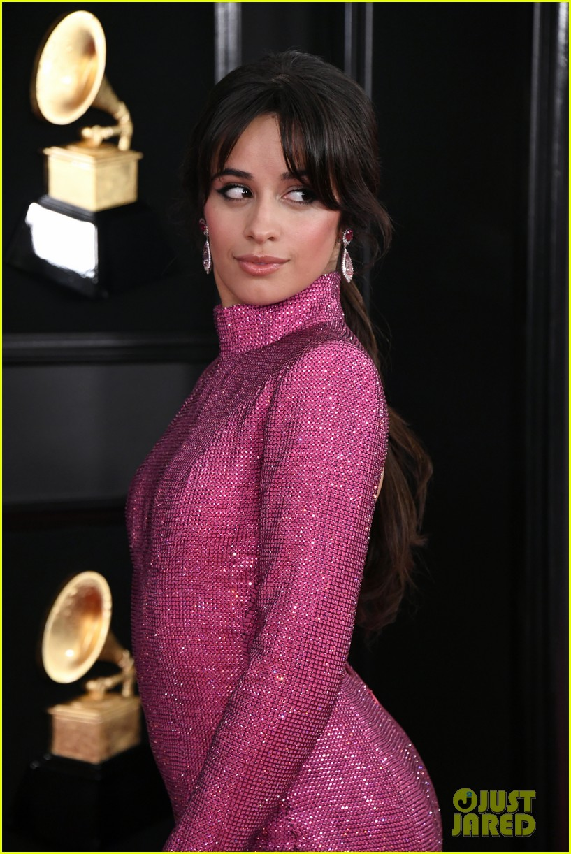 camila cabello is pretty in pink for grammys 2019 photo 1215298 2019 grammys camila cabello grammys pictures just jared jr just jared jr