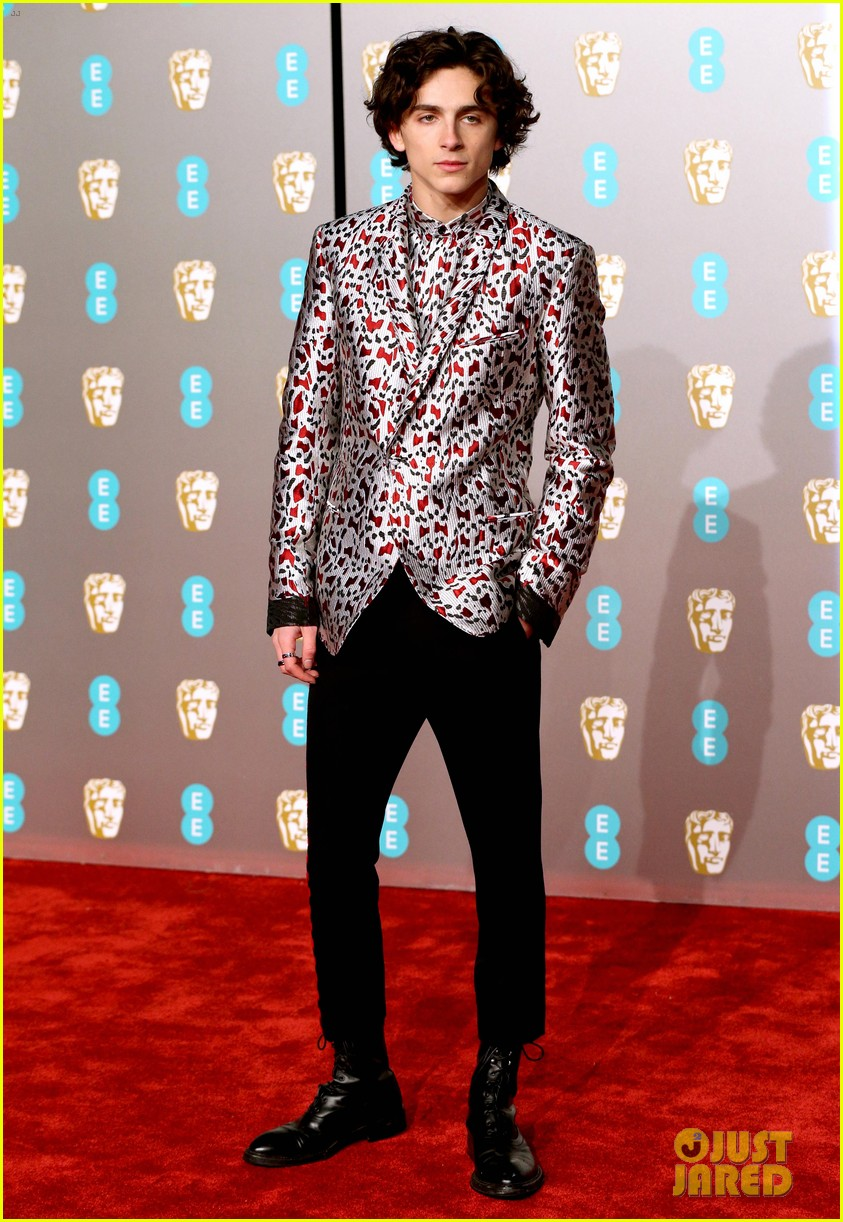 timothee chalamet is the best dressed man at baftas 2019