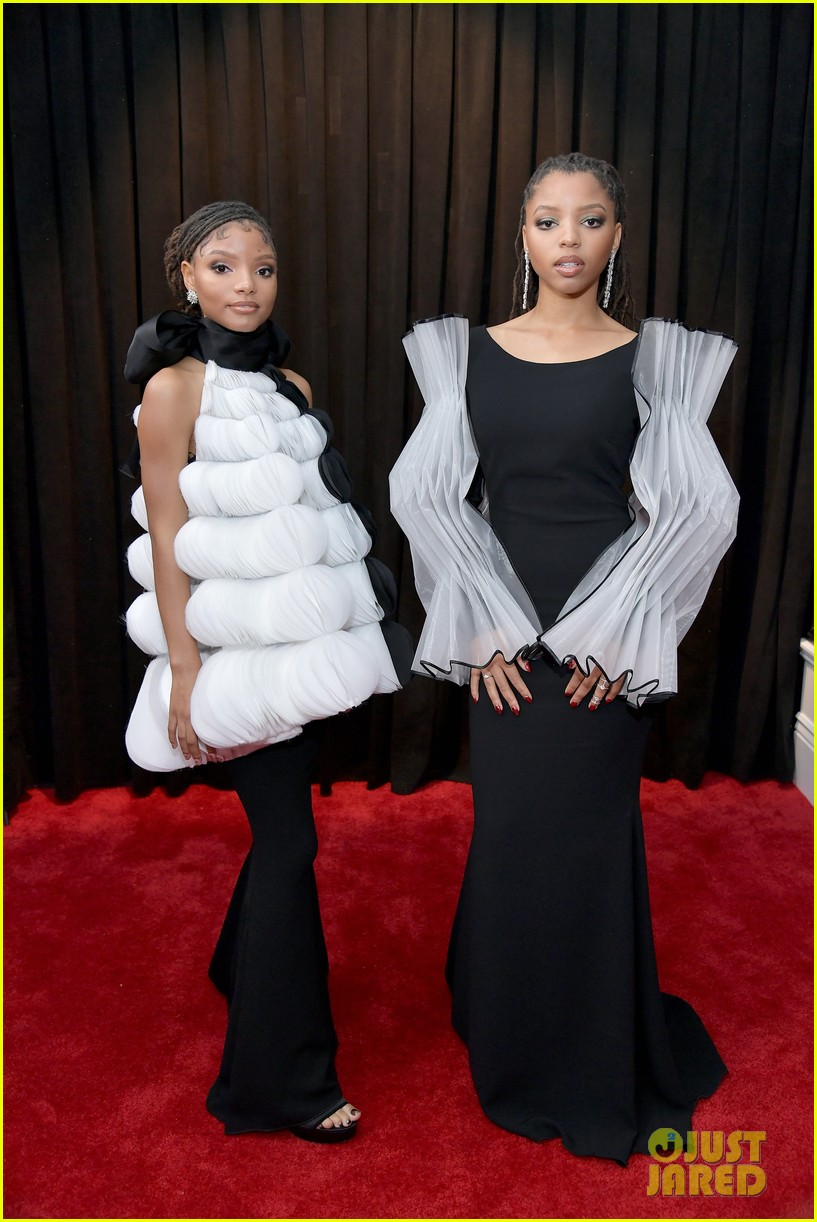 chloe halle 2019 grammy awards 03