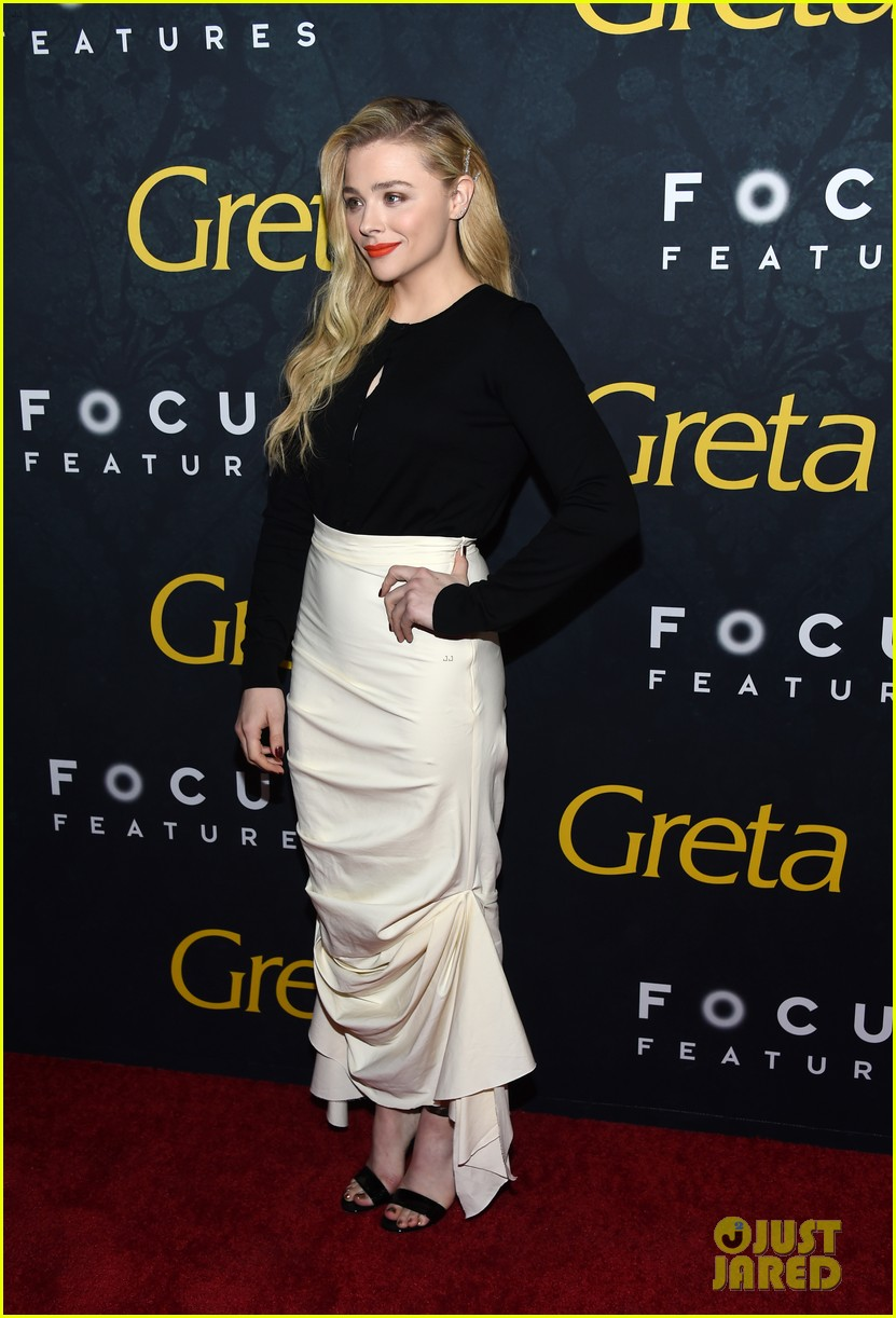 chloe moretz greta premiere hollywood 14