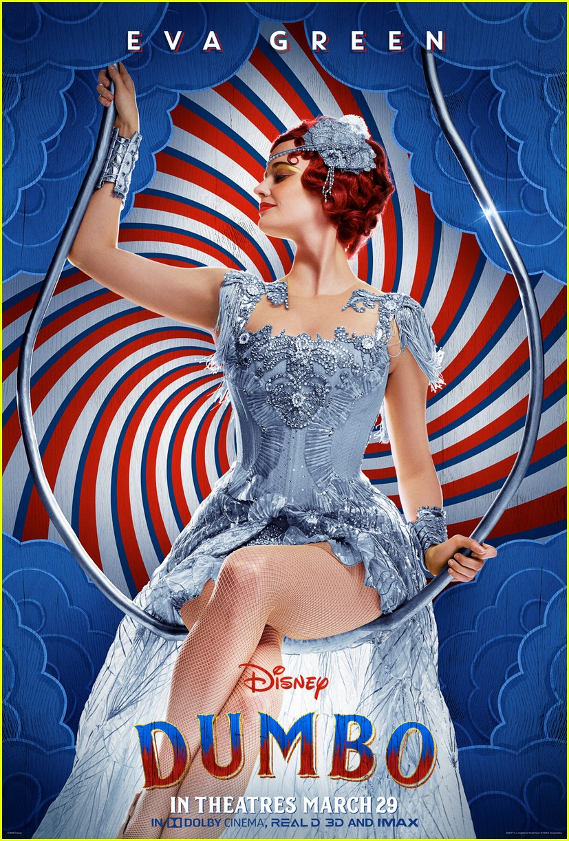 dumbo movie character posters 05