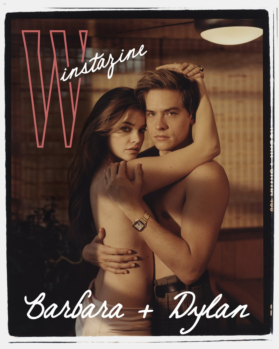dylan sprouse barbara palvin w mag feature 01