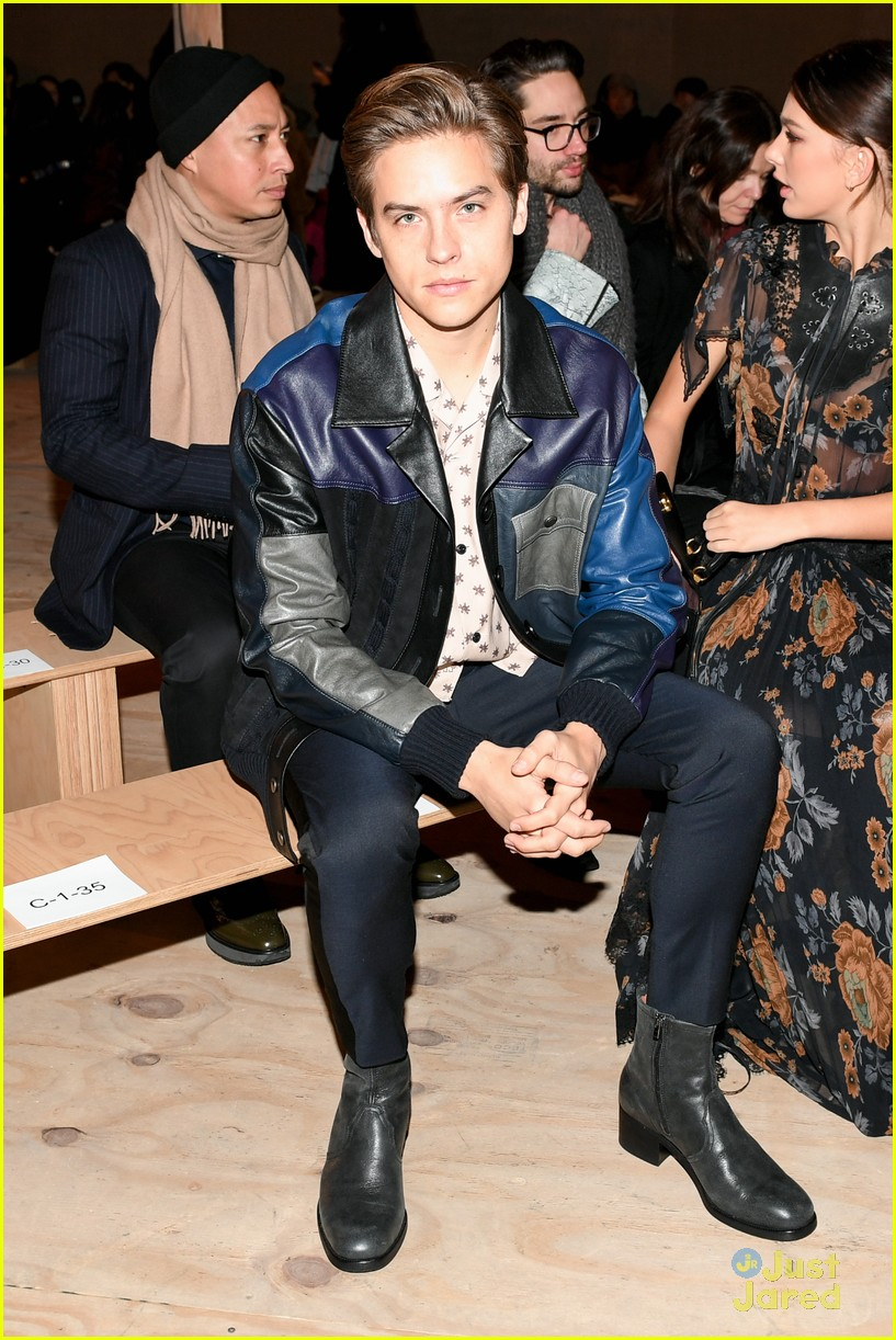 dylan sprouse coach victoria justice cinq nyfw 07