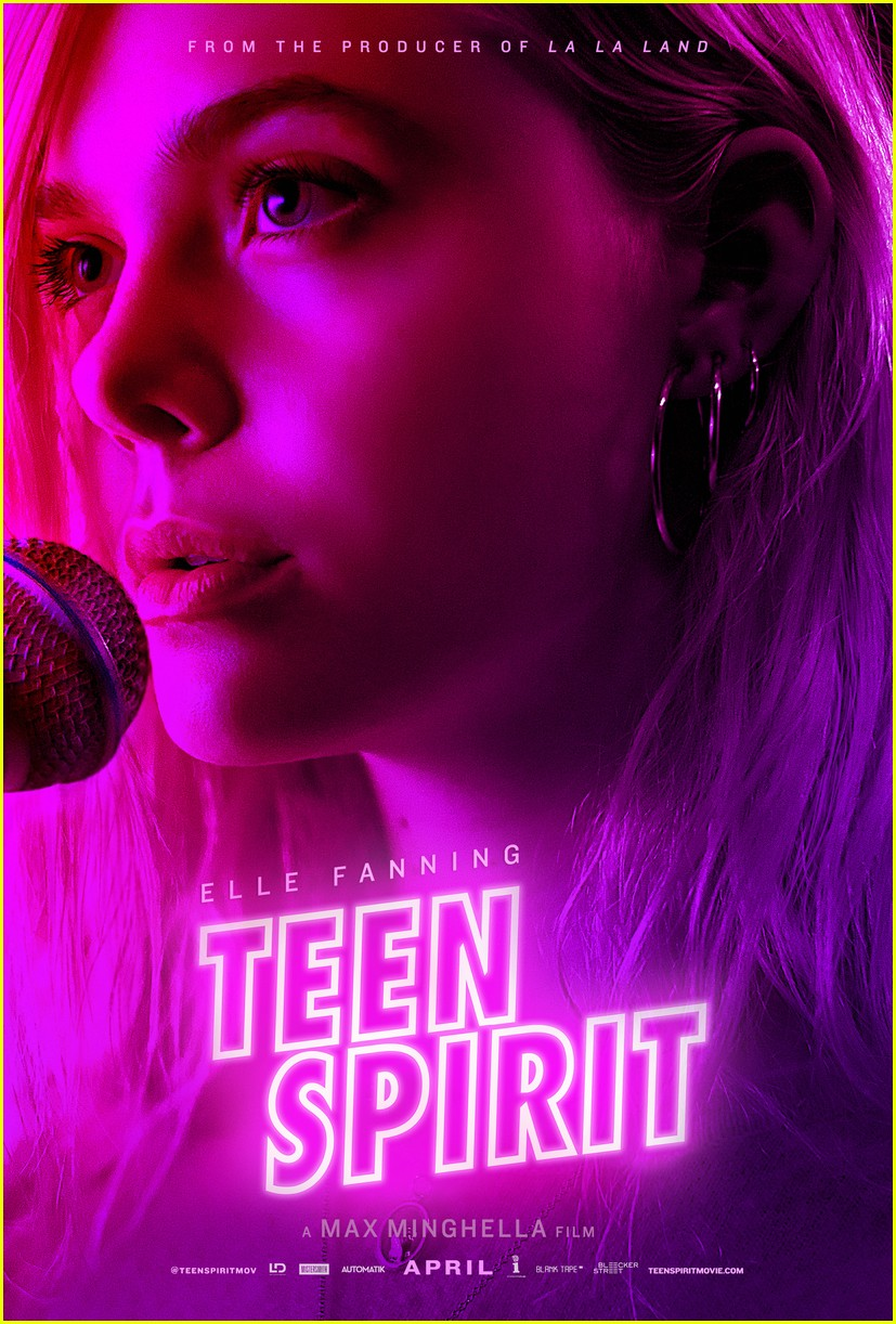 teen spirit elle fanning poster