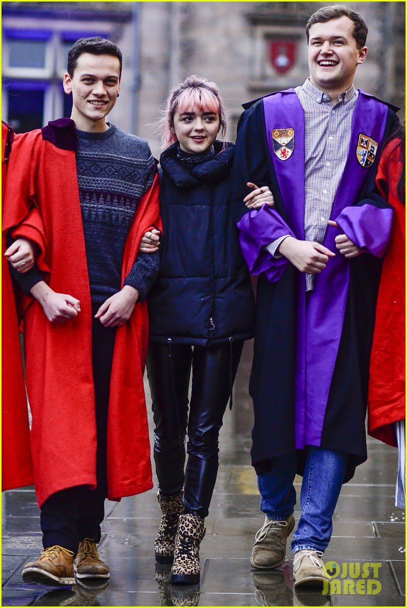maisie williams app university februrary 2019 12