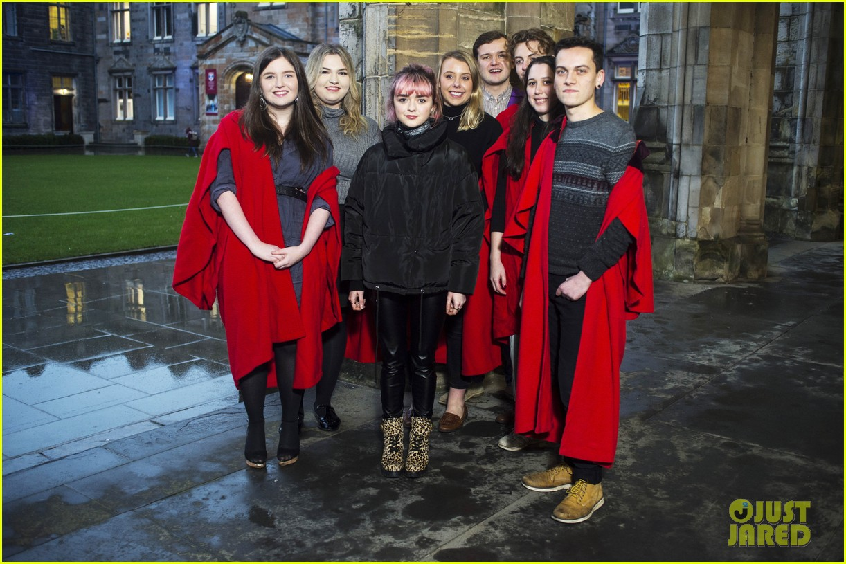 maisie williams app university februrary 2019 16