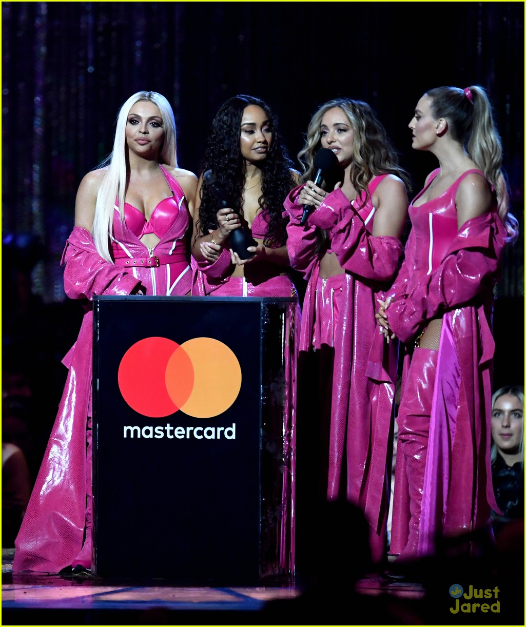 little mix pink look win brits 01
