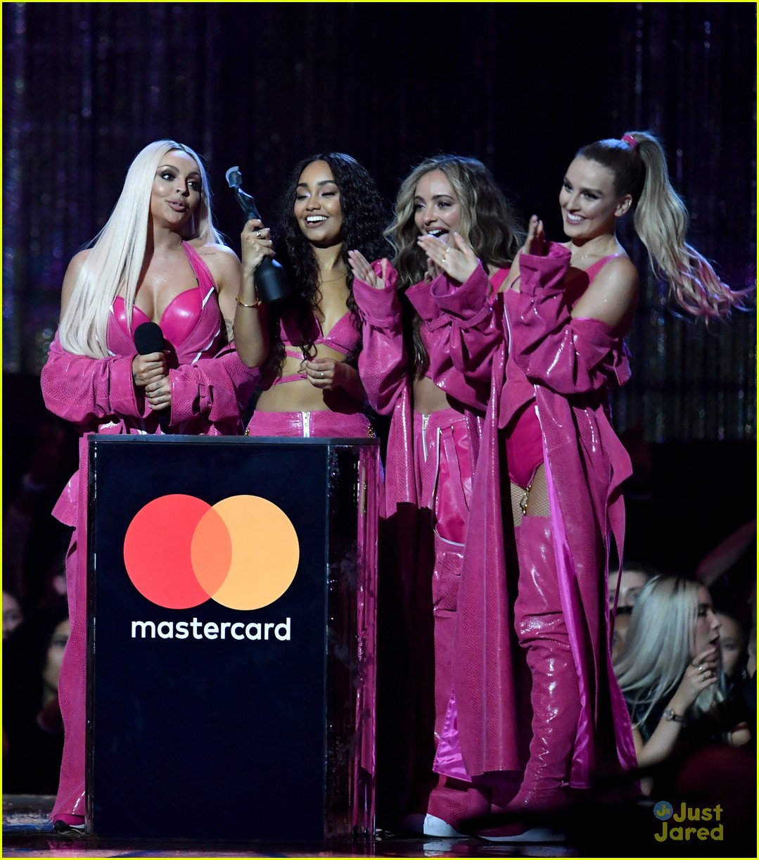 little mix pink look win brits 02