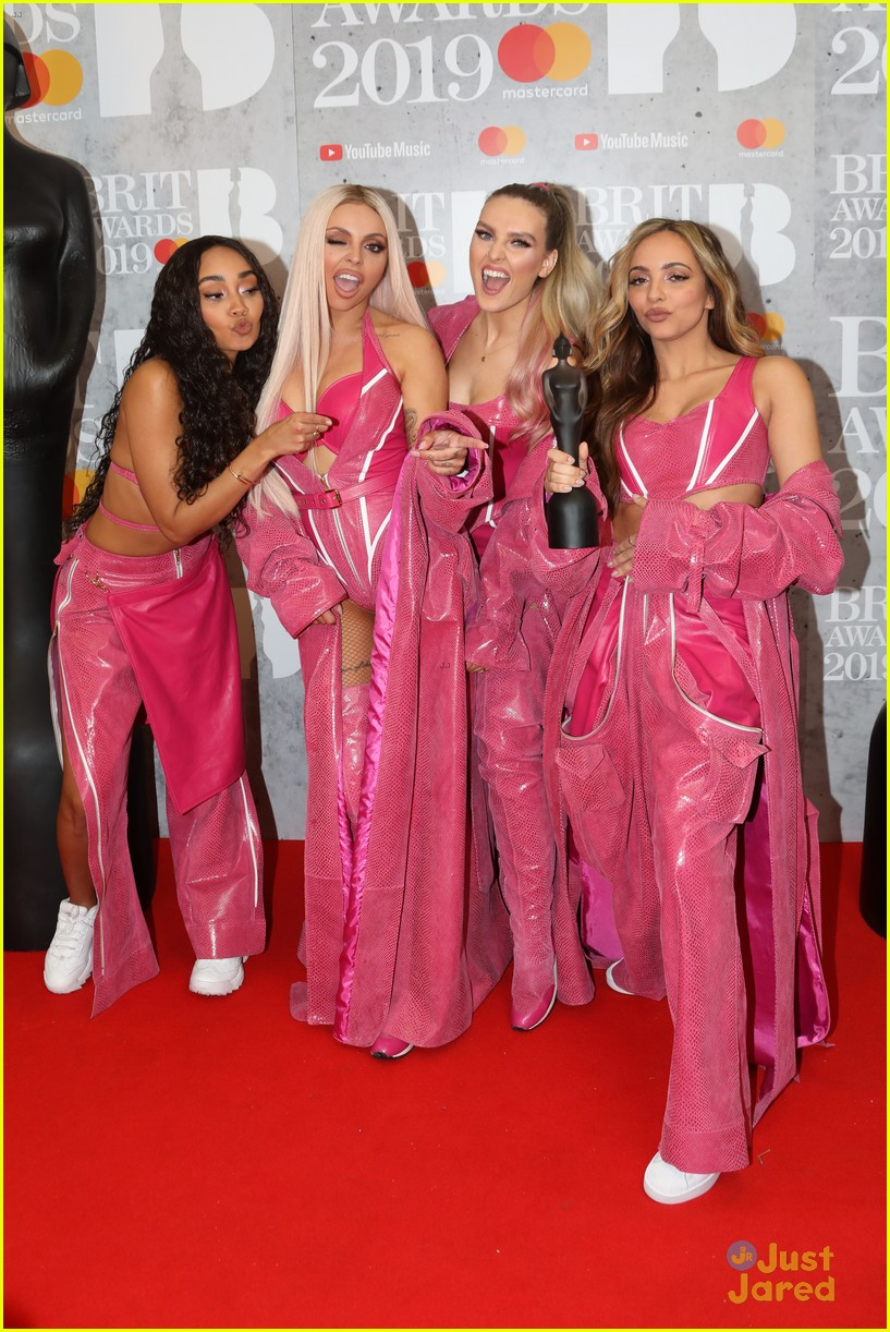 little mix pink look win brits 03
