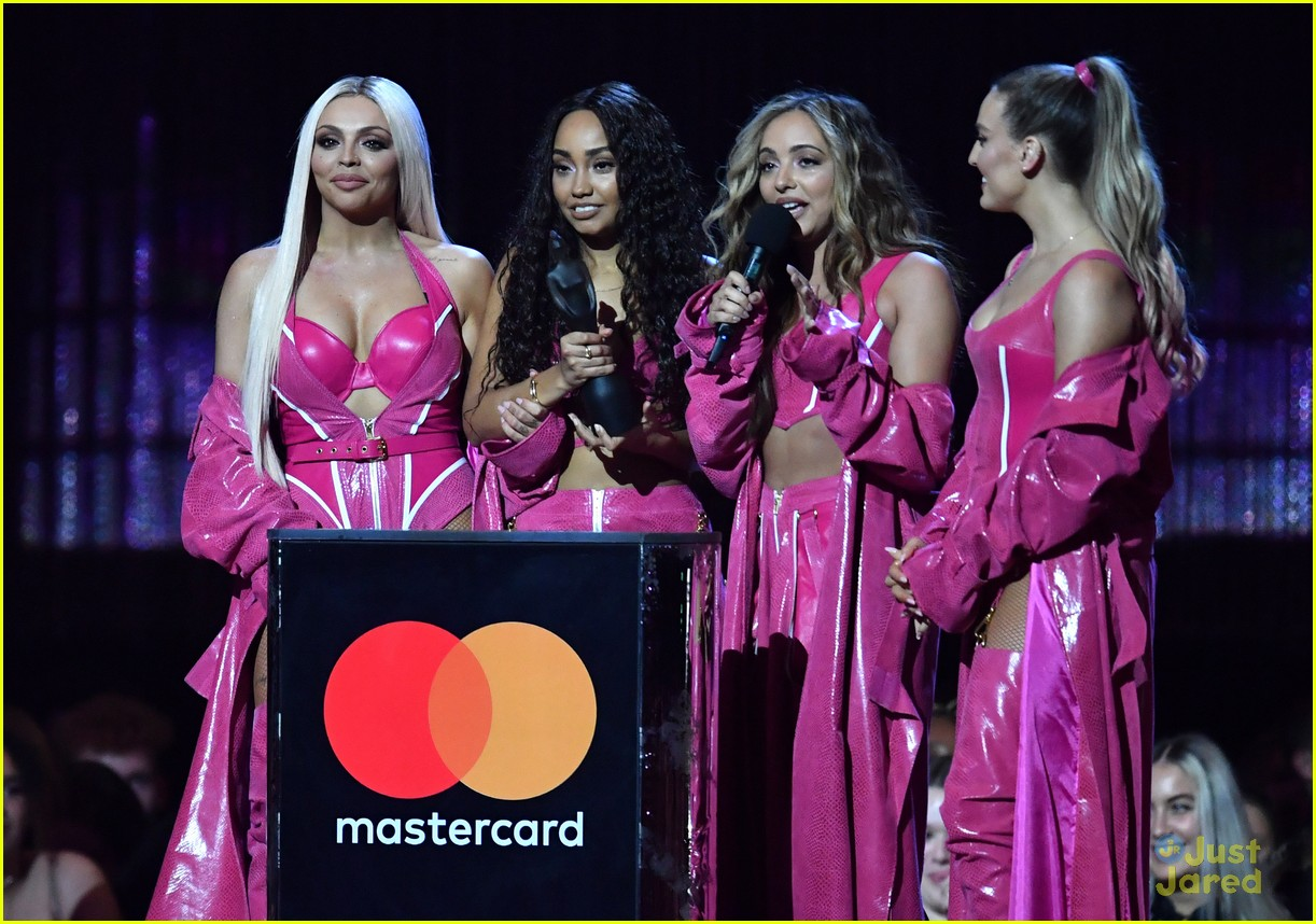 little mix pink look win brits 06