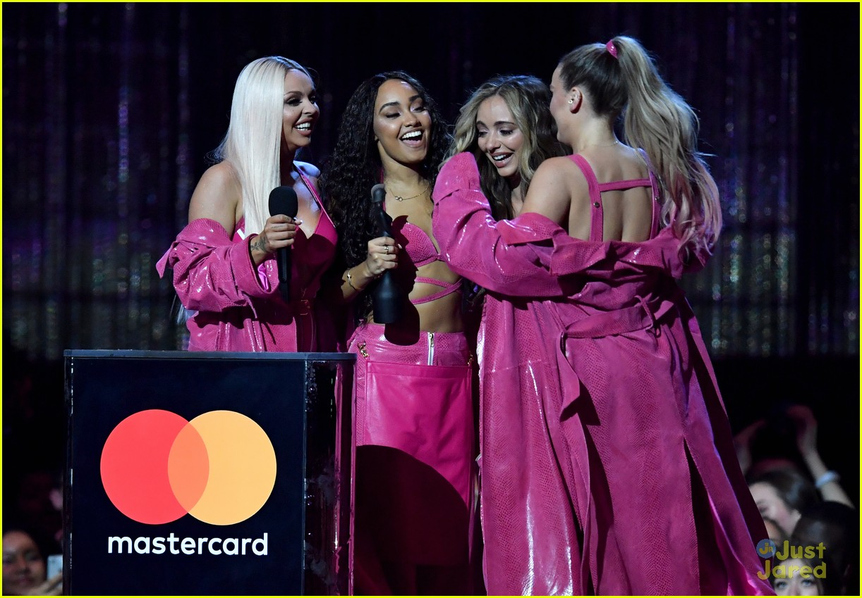 little mix pink look win brits 21