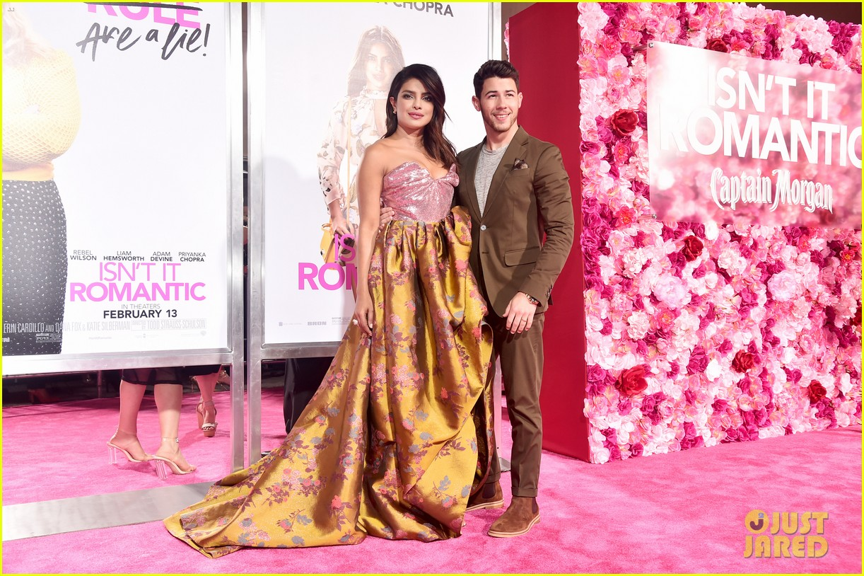 nick jonas priyanka chopra couple up isnt it romantic premiere 10