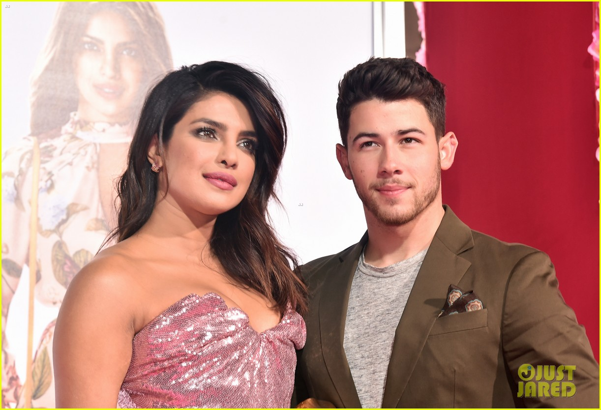 nick jonas priyanka chopra couple up isnt it romantic premiere 11