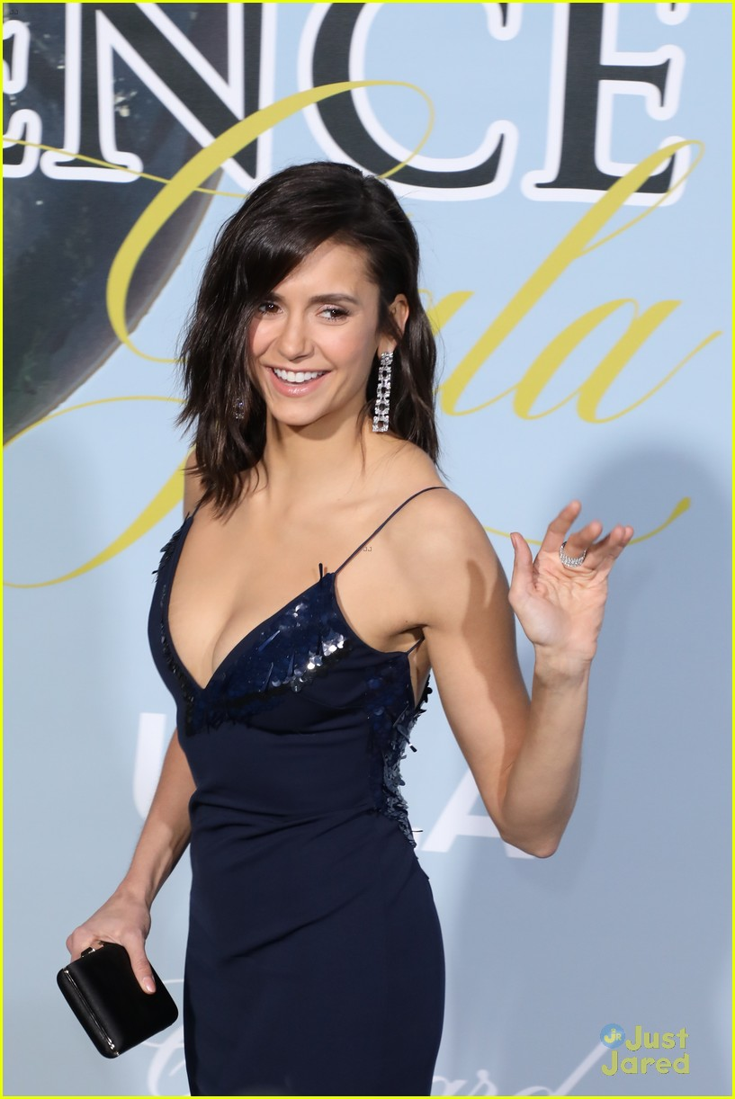 nina dobrev hollywood science gala pics 04