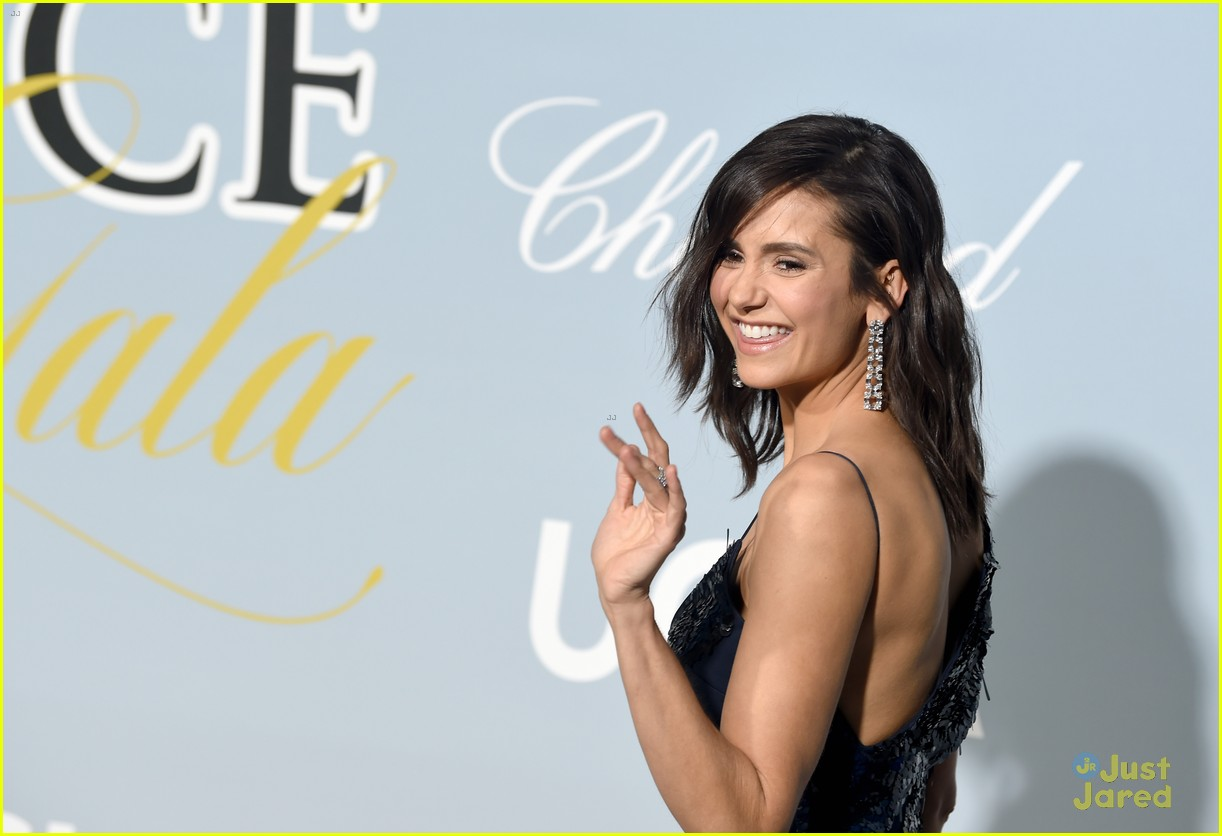 nina dobrev hollywood science gala pics 09