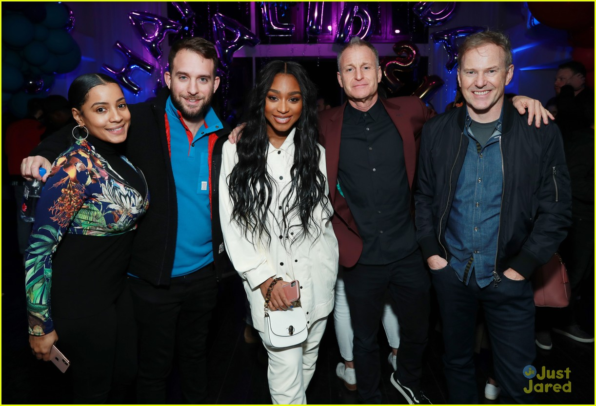 normani khalid birthday party love lies record 04