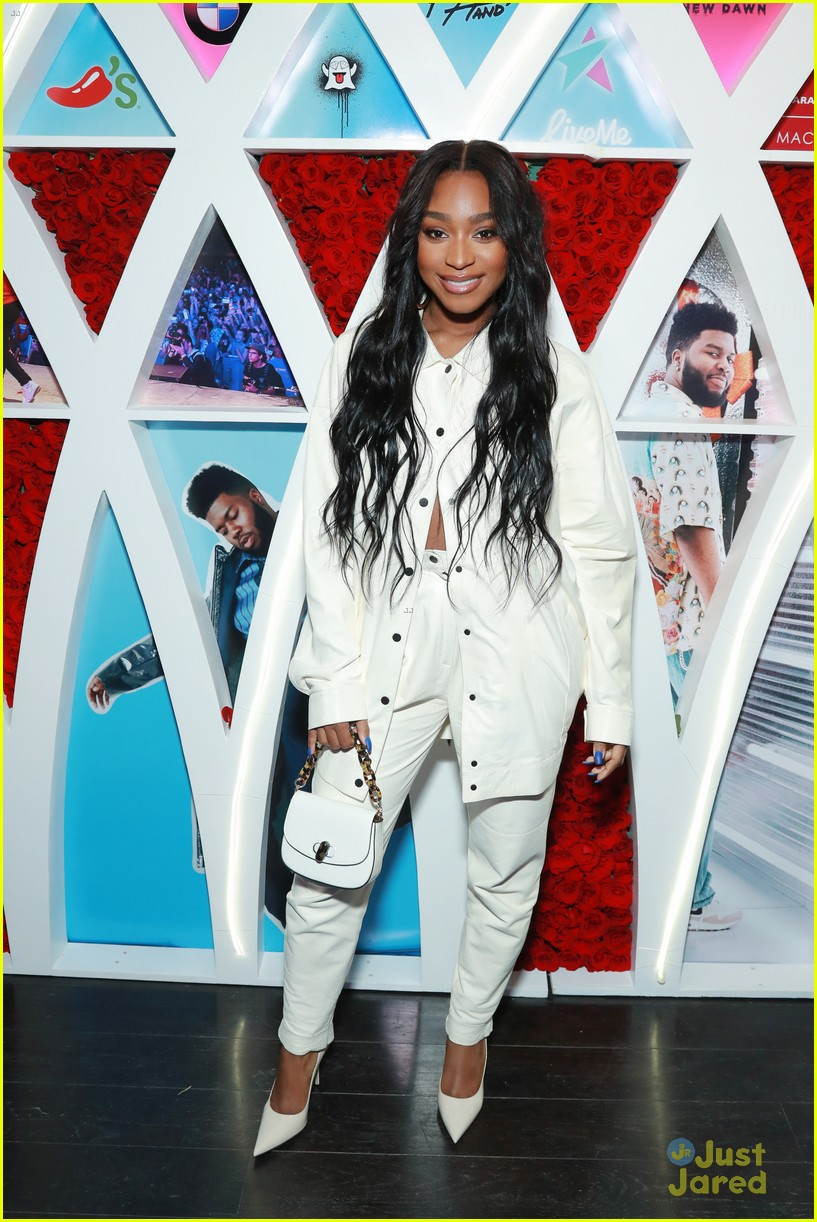 normani khalid birthday party love lies record 06