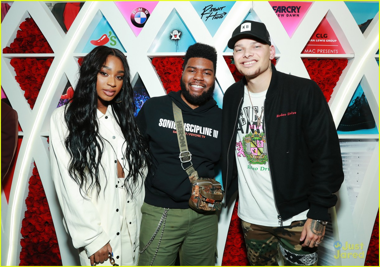 normani khalid birthday party love lies record 08