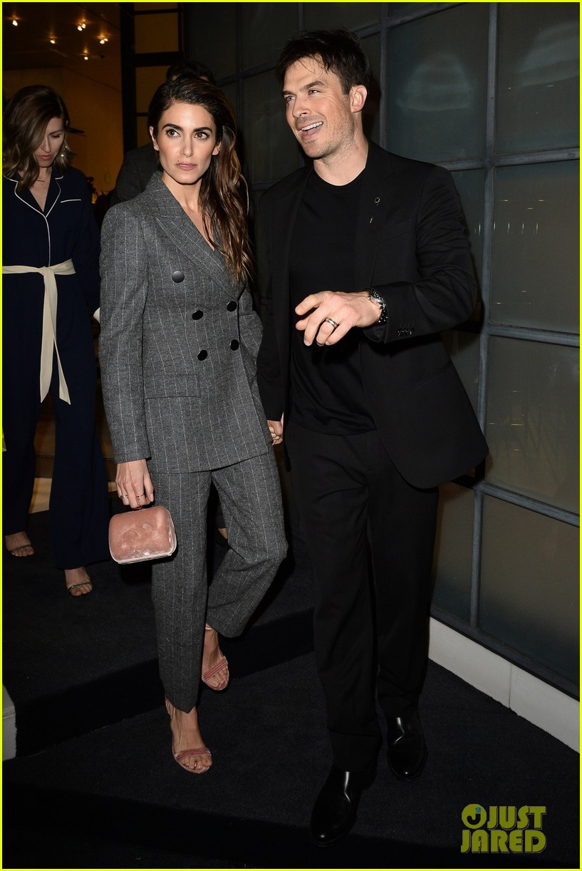 ian somerhalder nikki reed giorgio armani oscar party 01