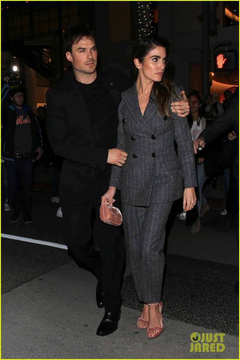 ian somerhalder nikki reed giorgio armani oscar party 11