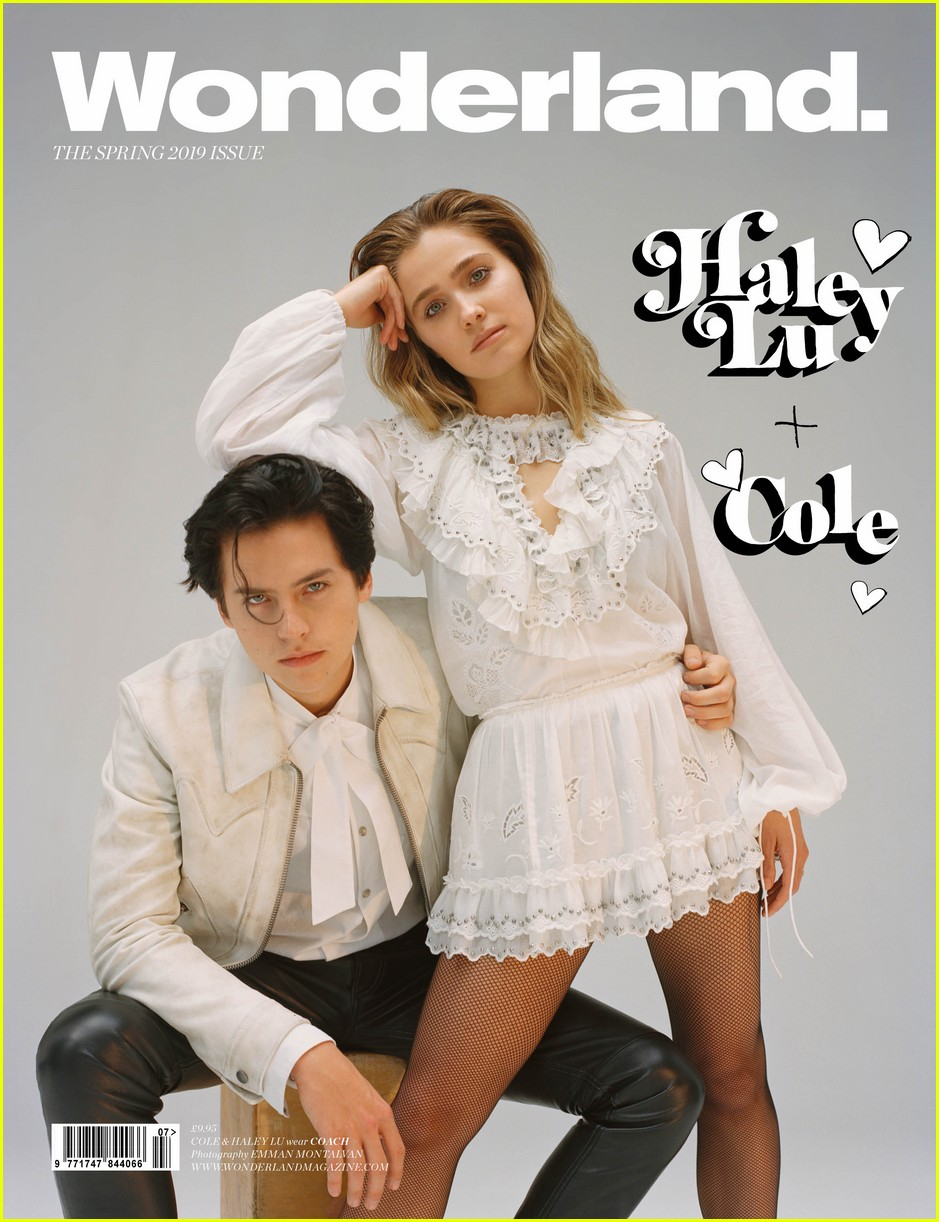 cole sprouse talks riverdale and five feet apart with haley lu richardson 01